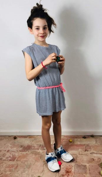 Dress Striped Linen
