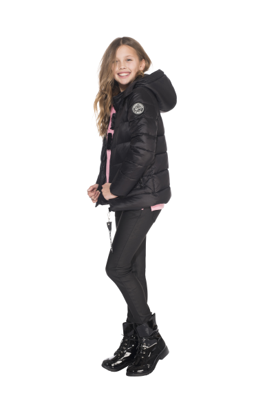 Elisabeth Puffer Jacket Black