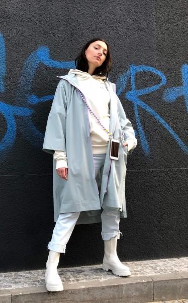 JAX Raincoat Cris Bleu