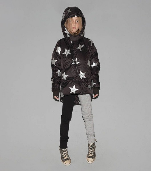 1/2 & !/2 Leggings Grey & Black