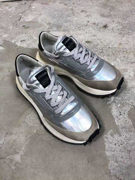 Tenkei Ecru/Silber Damen Sneaker