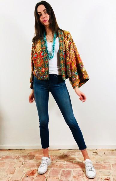 Camden Kimono Persimmon