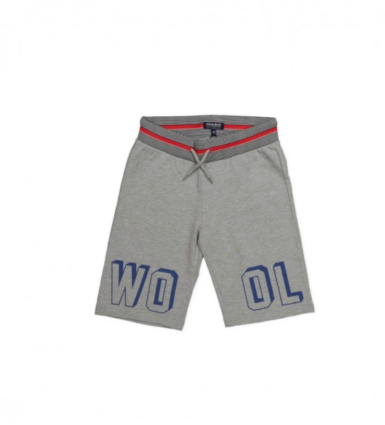 Boy's Basic Bermuda light grey