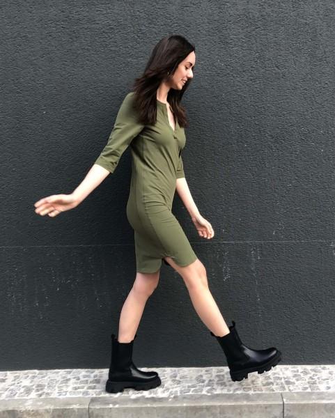 Dress Jill khaki