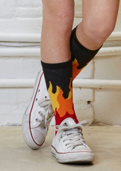 Fantasy Socks Flames 3