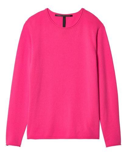 Cashmere Sweater Crew Neck flour pink