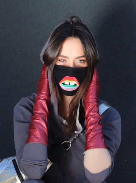 Vira X Rainbow Gap Mouth Mask