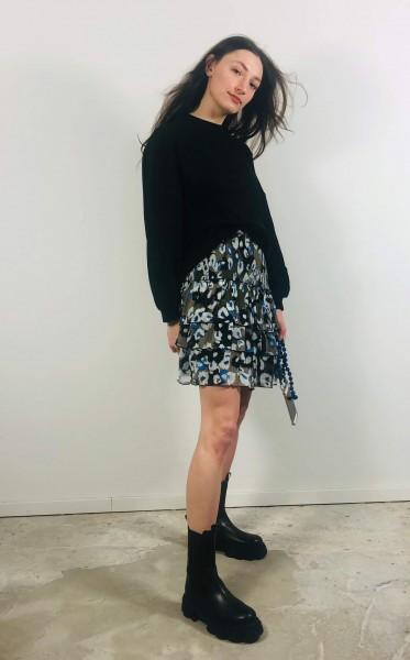 Skirt Sylvana Liquid Leo Blue