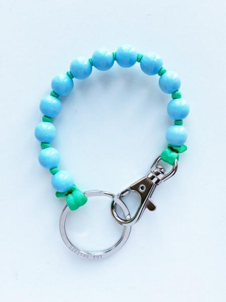 Schlüsselanhänger Pastellblau-Grün