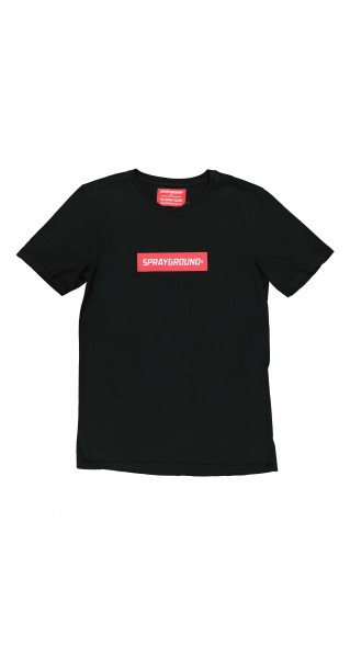 T-Shirt Double Logo black