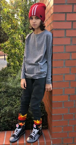 T-Shirt Boy Grigio