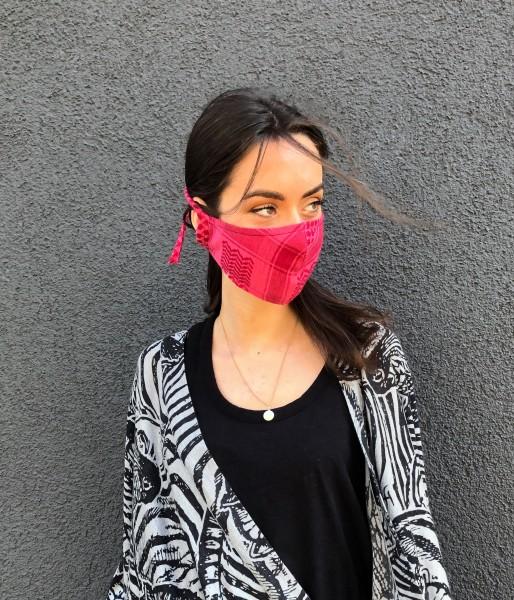Gesichtsmaske Cecilie Pink