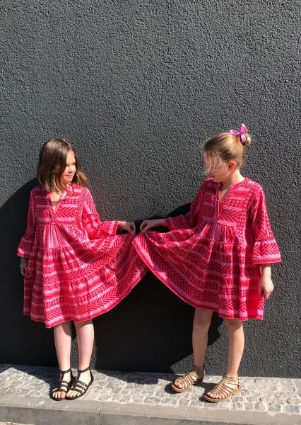 Ellastars Shortdress Kids Red/Pink