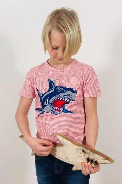 T-Shirt Shark red