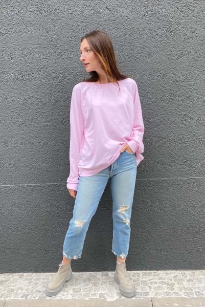 Sweatshirt Vintage Crystal Pink