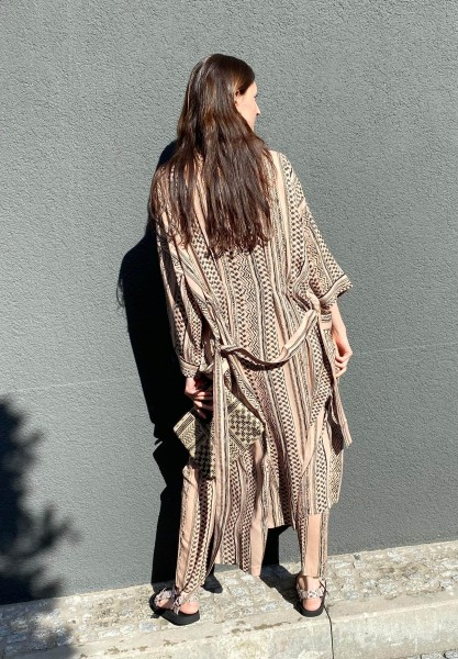 Kimono Kanila Desert Kufiya