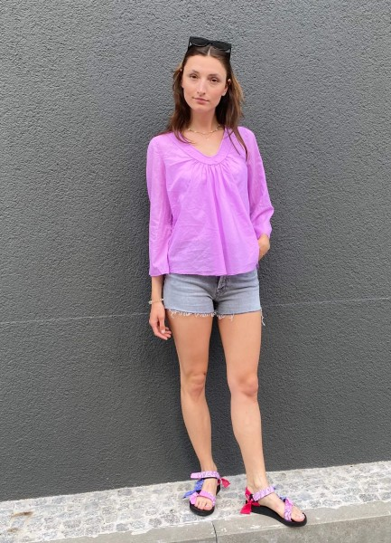 Adel Blouse lilac