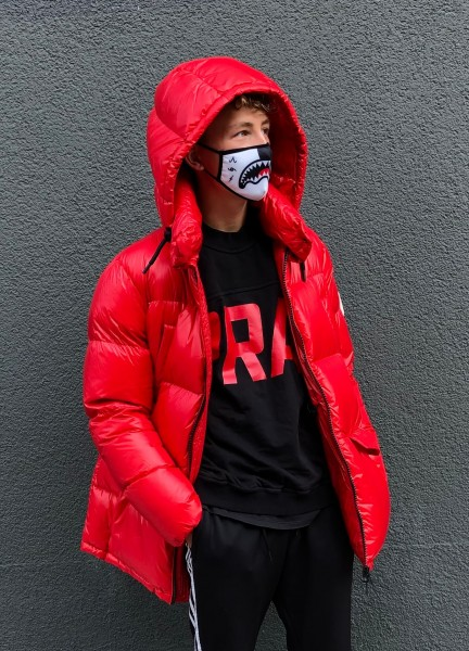 Piumino Man Jacket Chilli Red